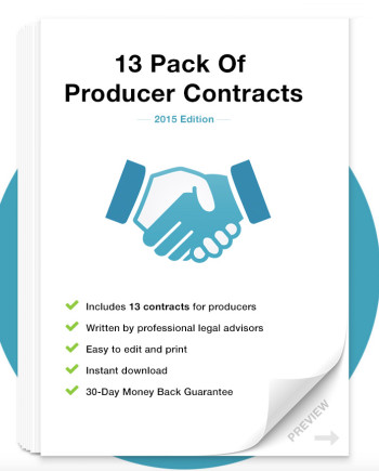 Music Law Contracts - Producer Contract Pack