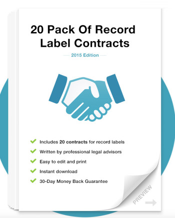 Music Law Contracts - Record Label Contract Pack